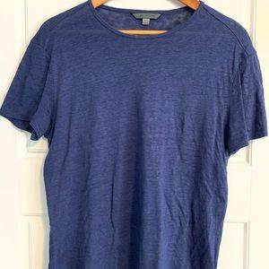 Midnight Blue Slim Fit Crew T-Shirt